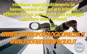 biomeccanica podalica PROFESSOR PACILIO ANTONIO napoli
