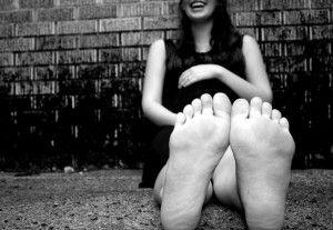 piedi e gravidanza