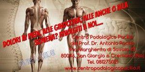centro per la cura del piede e della postura del prof. antonio pacilio