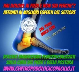 CENTRO PODOLOGICO PACILIO DEL DOTTOR ANTONIO PACILIO