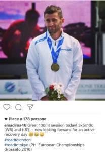 Emanuele Di Marino Europei di Grosseto 2016