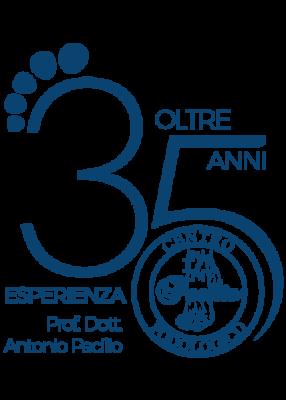 Centro_Podologico_Pacilio_Podologo_Posturologo_napoli_35anni_logo_unica_sede