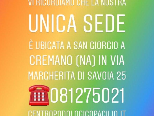 centro podologico pacilio del Prof. Dr. Antonio Pacilio