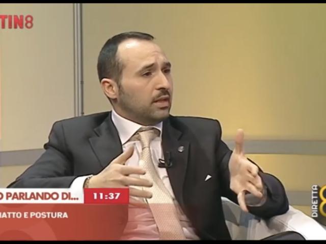 Prof. Antonio Pacilio piede piatto e postura